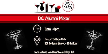BC Alumni Mixer at the Boston College Club tickets