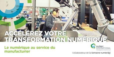 Le numérique au service du manufacturier billets