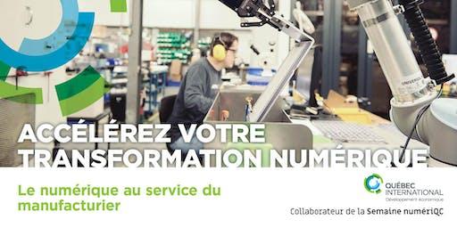 Le numérique au service du manufacturier