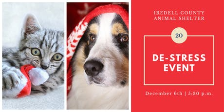 De-Stress Event with Iredell County Animal Services tickets