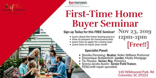 First-Time Home Buyer Seminar
