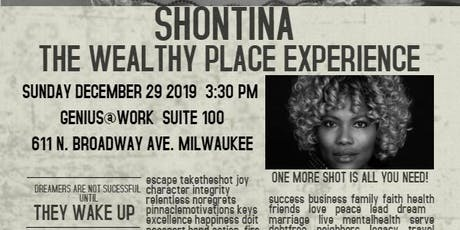 Wealthy Place Vision Board Experience tickets