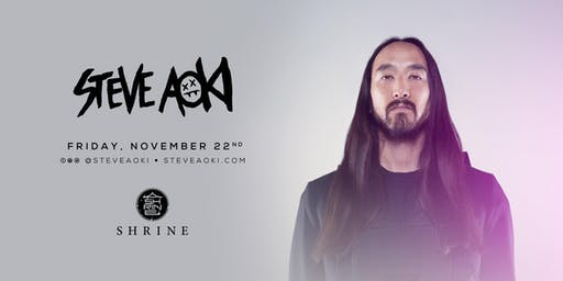Steve Aoki | Shrine Foxwoods 11.22.19