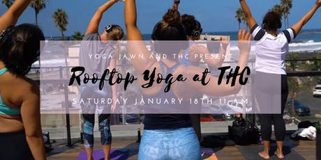 Rooftop Yoga at THC 1/18 tickets