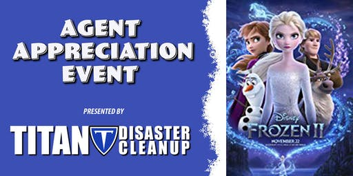 Agent Appreciation Event Showing of Frozen 2