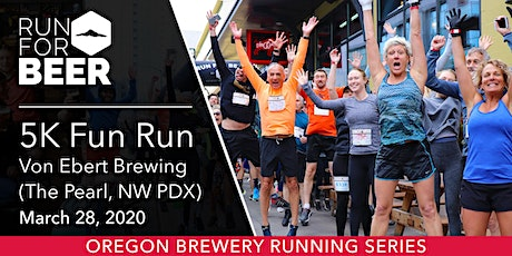 Von Ebert Brewing 5k Fun Run tickets