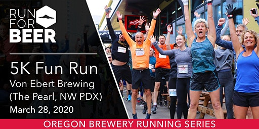 Von Ebert Brewing 5k Fun Run