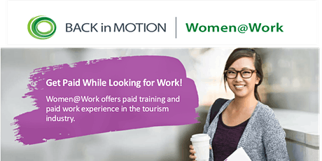 Women@Work Tourism Program Info Session - Coquitlam tickets