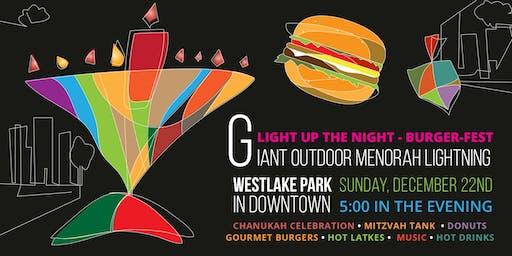 Light Up the Night- Burger Fest