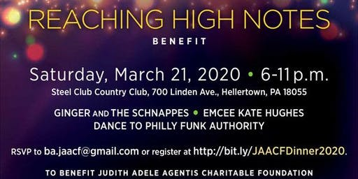 Reaching High Notes 2020 with Philly Funk Authority to Benefit JAACF org