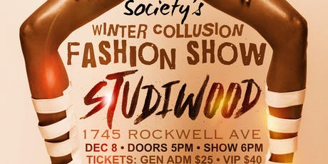 Society's Winter Collusion Fashion Show tickets