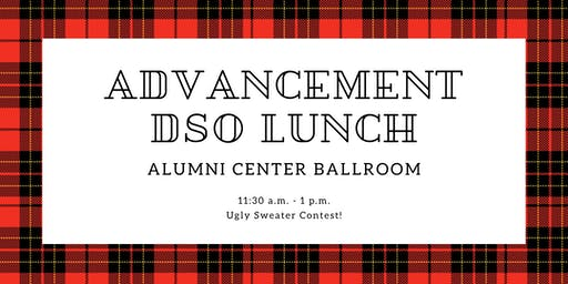 Advancement DSO Holiday Lunch