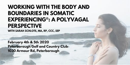 Working with the Body and Boundaries in Somatic Experiencing