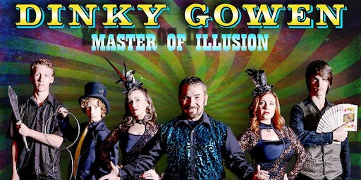 Middleport, OH - Dinky Gowen: Master of Illusion