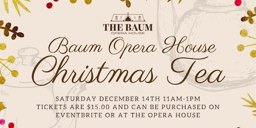 Christmas Tea Party with the Baum Opera House