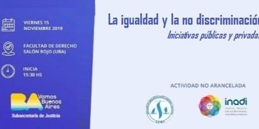 Conferencia sobre la igualdad y la no discriminación.
