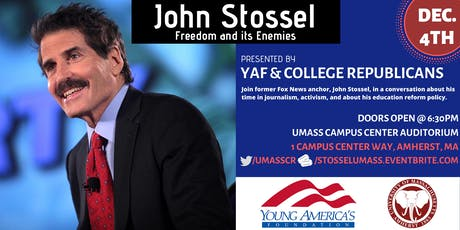 John Stossel at UMass Amherst: Freedom and its Enemies tickets