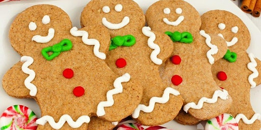 KIDS CLUB: Gingerbread Cookie Decorating Class
