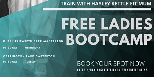 TRAIN WITH HAYLEY KETTLE FIT MUM - MASTERTON