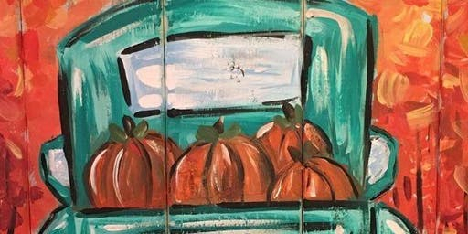 Wine + Paint: Truckin' through Thanksgiving