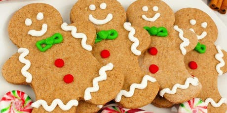 KIDS CLUB: Gingerbread Cookie Decorating Class tickets