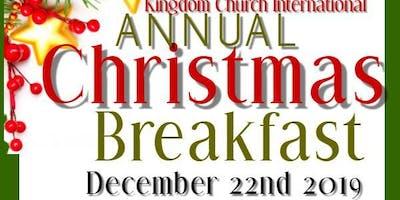 Kingdom Church Annual Christmas Breakfast