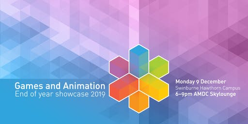 Games and Animation End of Year Showcase 2019