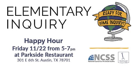 inquirED and NCSS Happy Hour tickets