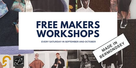 Sewing and Screen Printing open space (FREE) tickets