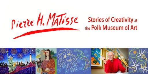 Pierre Matisse – Stories of Creativity at the Polk Museum of Art