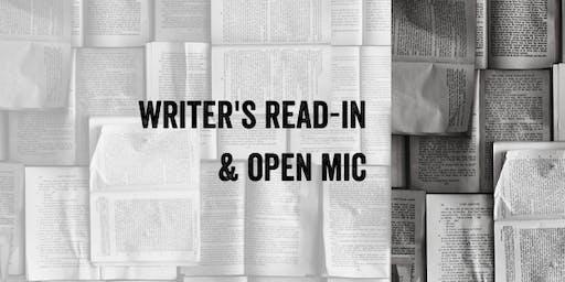 Writer's Read-in & Open Mic