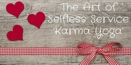 Karma Yoga for FREE on Dec. 11 from 7-8:30 pm.  Pre- registration only tickets