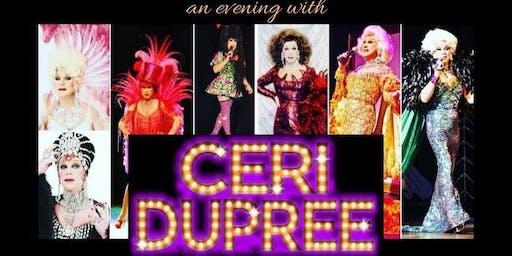 A Spectacular Evening with Ceri Dupree