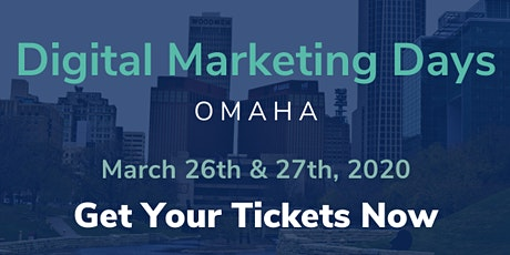 Digital Marketing Days / Omaha / Conference + Workshops + Networking + Fun tickets