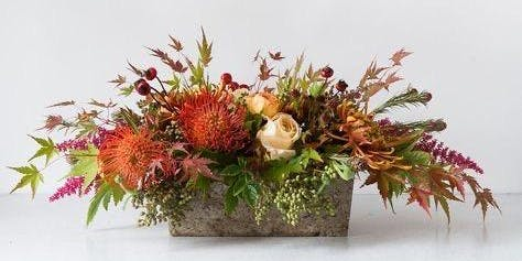 Build A Bloom: Thanksgiving Centerpience