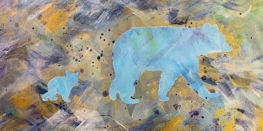Family Painting - Animal Abstract - pick your favorite