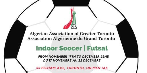 Indoor soccer league / Championnat Futsal