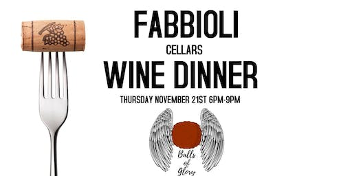 Fabbioli Wine Dinner