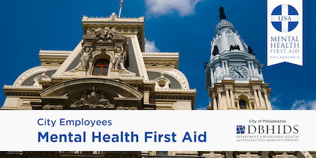 Youth MHFA for City of Philadelphia Employees ONLY* (October 29th & 30th) tickets