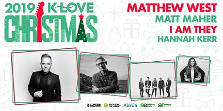 K-Love Christmas Tour MERCH/LOBBY VOLUNTEERING - Woodbridge, VA (DC) tickets