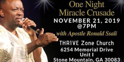 One Night Miracle Crusade Stone Mountain