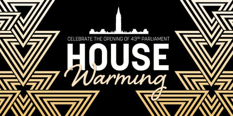 House Warming | Celebrate the Opening of Canada's 43rd Parliament tickets