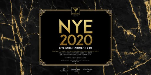 Blue Martini Fort Lauderdale | New Year's Eve 2020