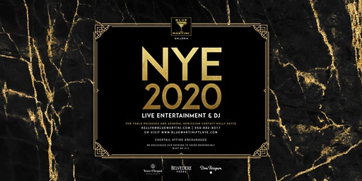 Blue Martini Fort Lauderdale New Year's Eve 2020