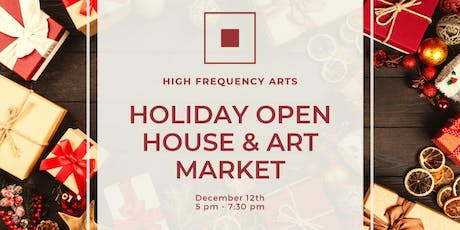 HFA Holiday Open House & Art Market tickets