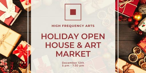 HFA Holiday Open House & Art Market