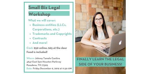 Small Biz Legal Workshop