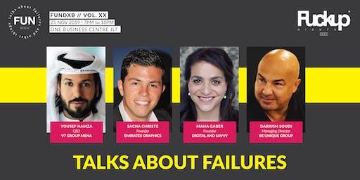 FUNDXB // Vol. XXI - Talks About Failure