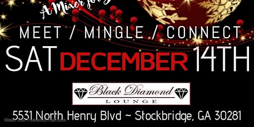 Singles Jingle & Mingle : A Holiday Affair at Black Diamond Lounge