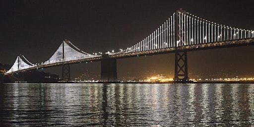Full Moon June 2020-Moonrise & Bay Lights Sail on the San Francisco Bay